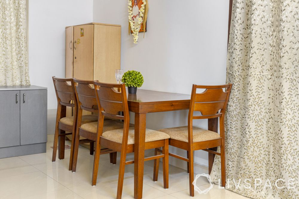 interior designers in Chennai-dining room-wooden furniture