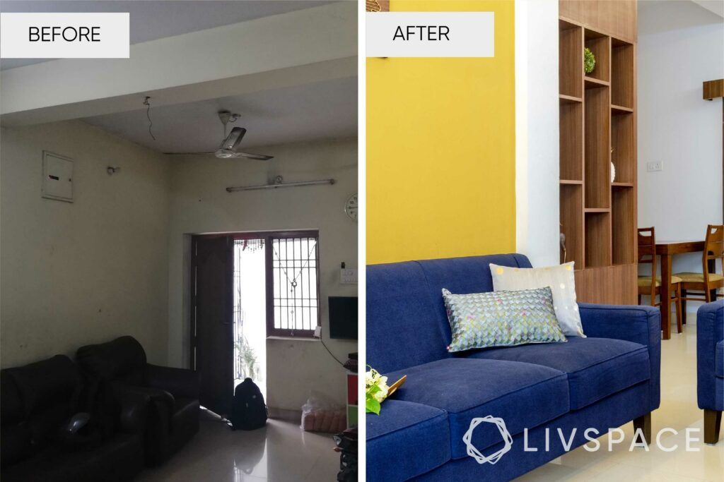 interior designers in Chennai-living room revamp
