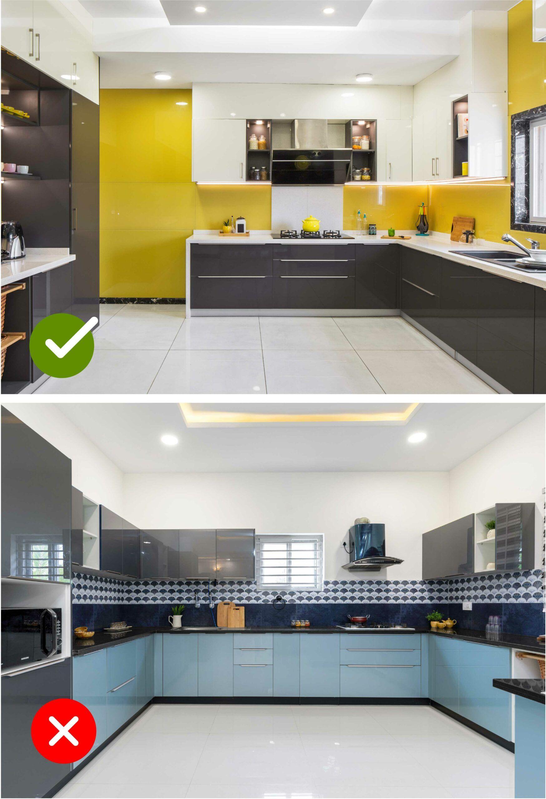 room colour as per vastu-kitchen