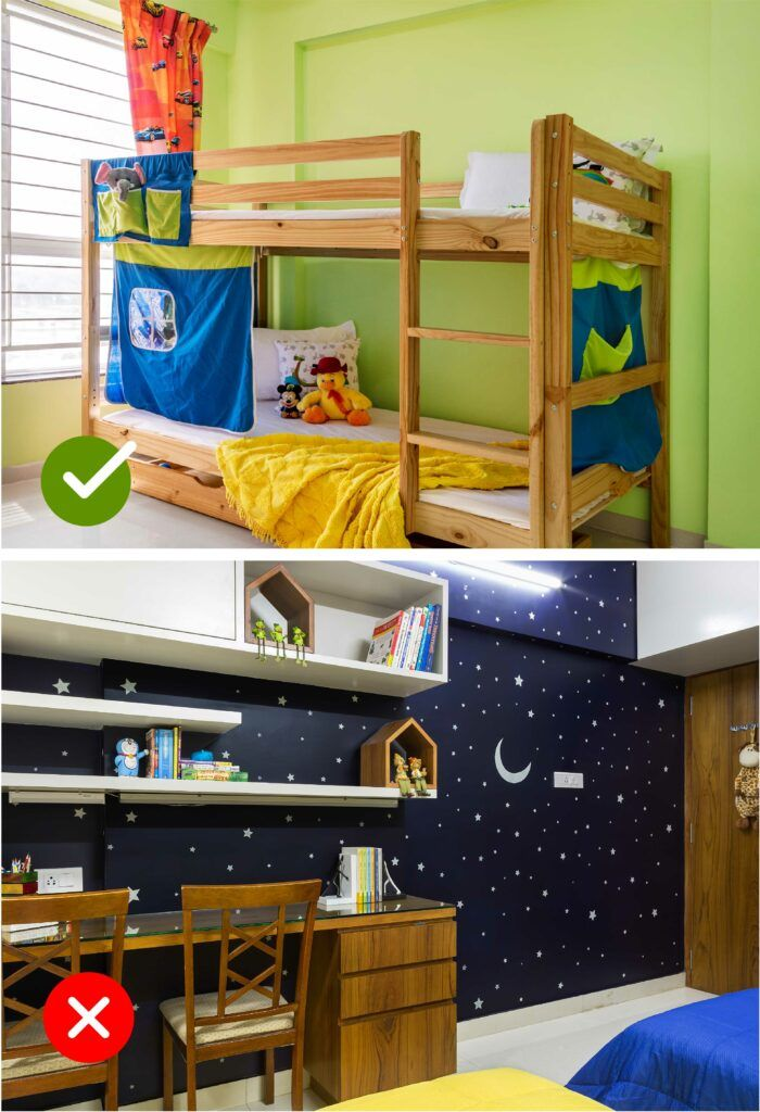 room colour as per vastu-kids room