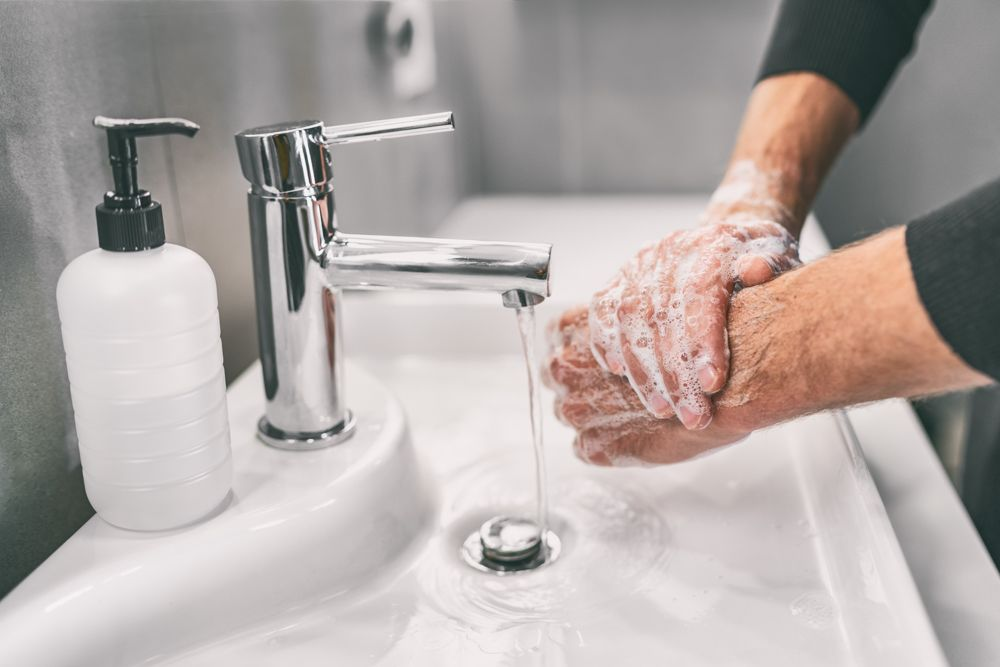 coronavirus prevention methods-washing hands-soap