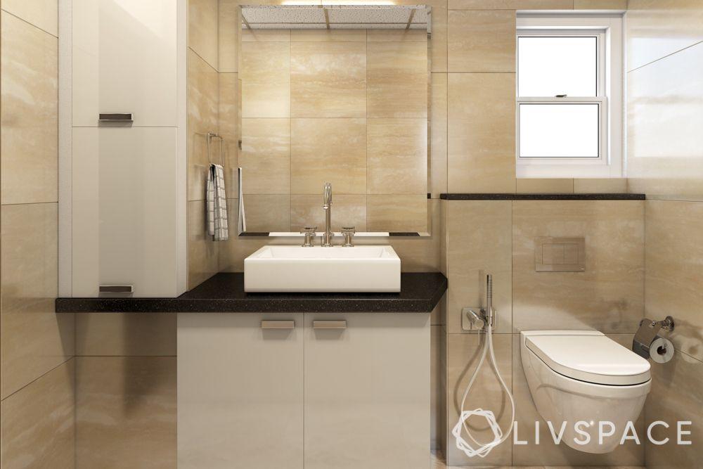 rental apartment bathroom ideas-bathroom cabinets