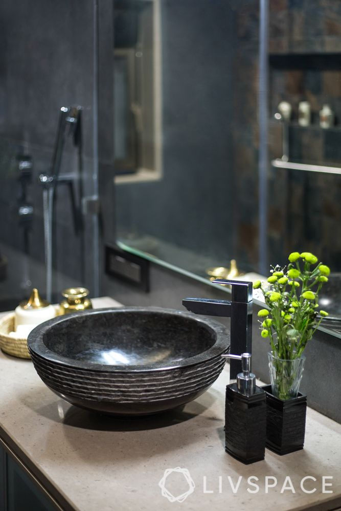 rental apartment bathroom ideas-bathroom basins