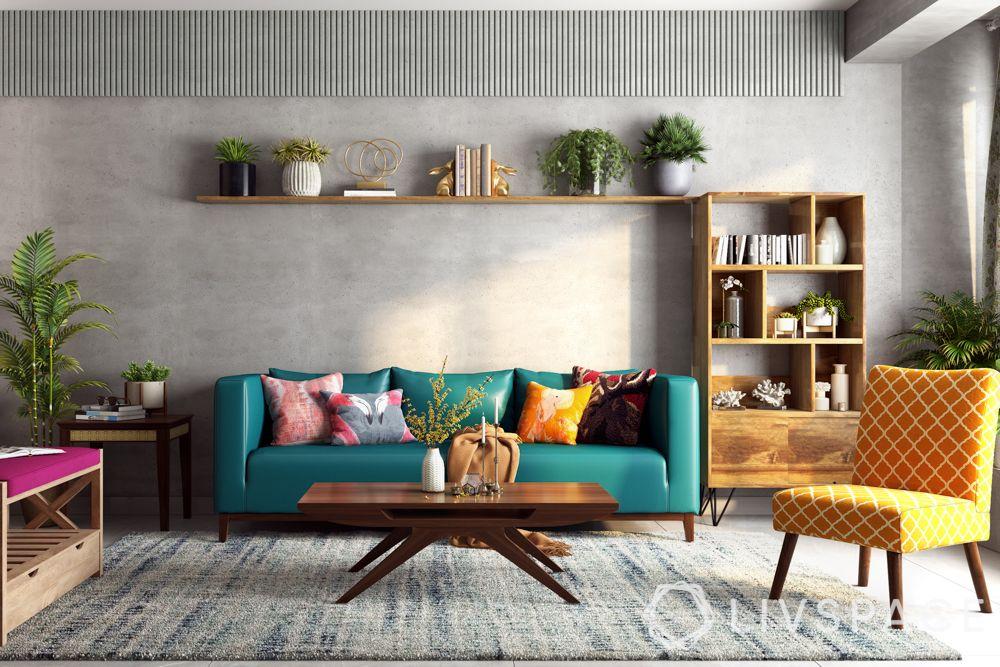 shruti-haasan-living-room-colourful-seating