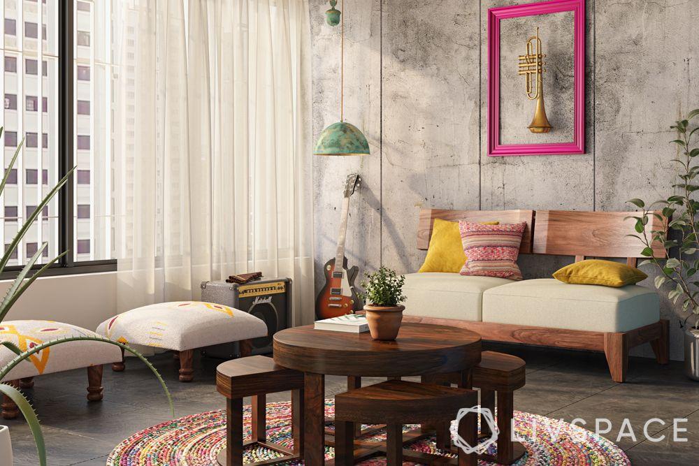 shruti-haasan-casual-seating-music-corner-low-seating