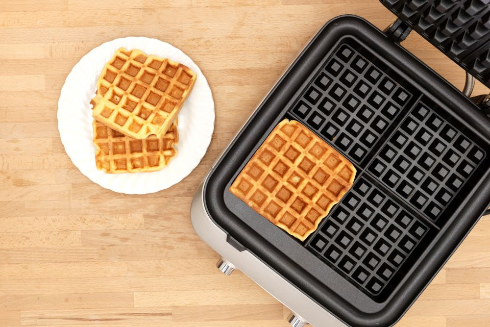 kitchen base cabinets-waffle machine-kitchen appliances