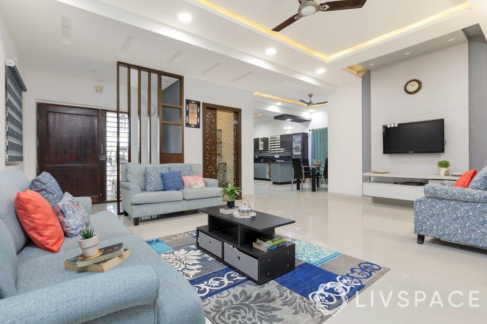 villa design-blue colour scheme for room-blue rooms