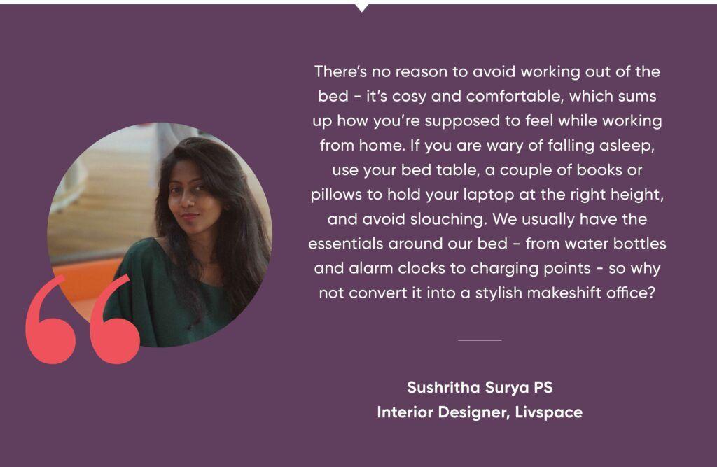 home office design-sushritha quote