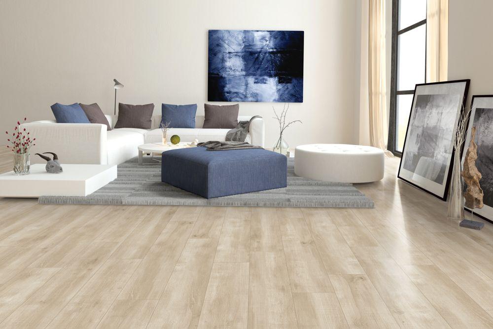 Luxury vinyl flooring-living room
