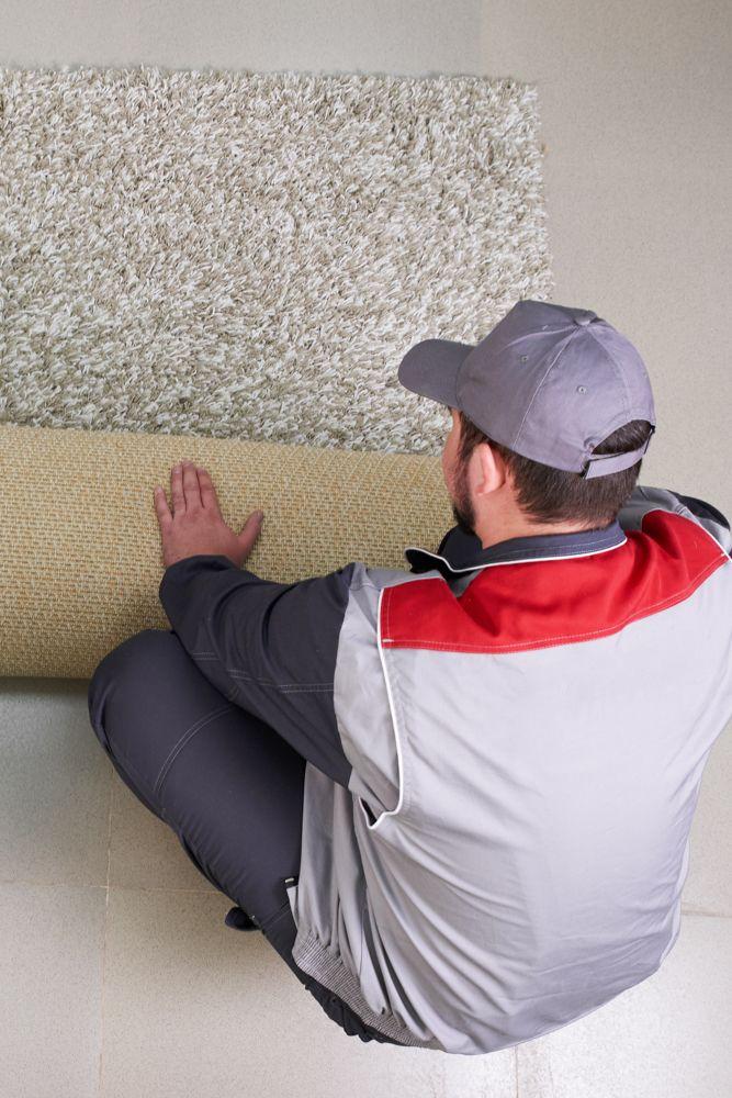 install carpet tiles