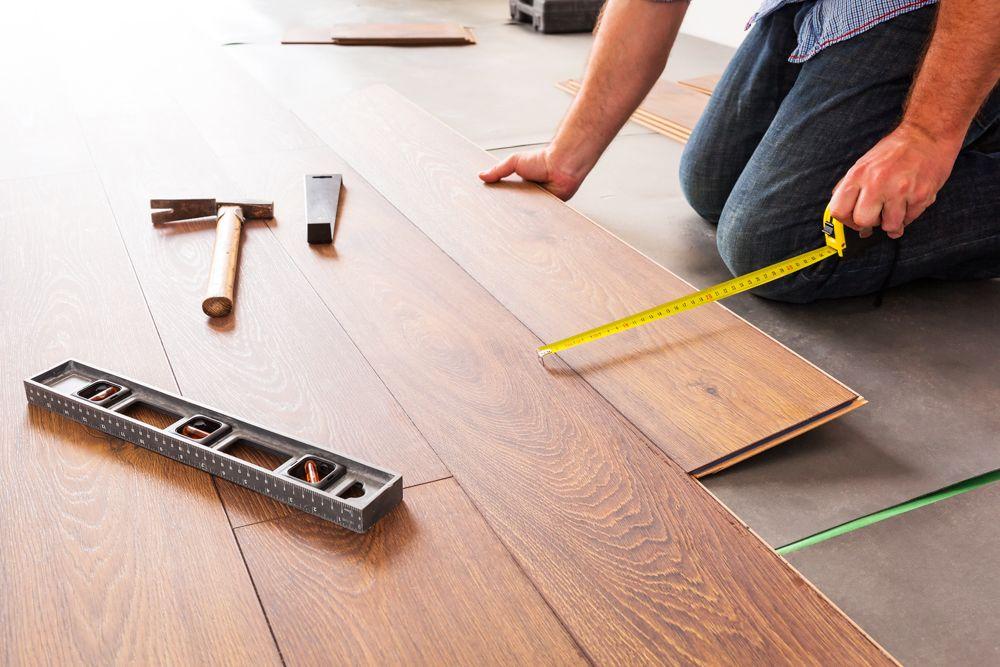 Flooring options-laminate installation