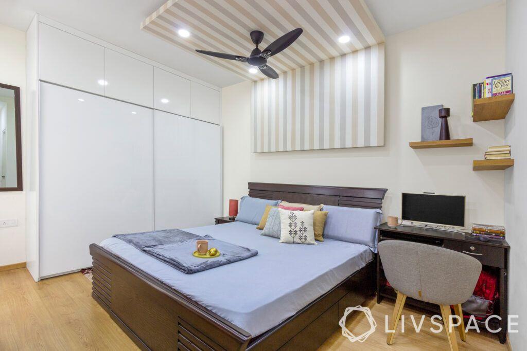 Partial false ceiling-bedroom-budget