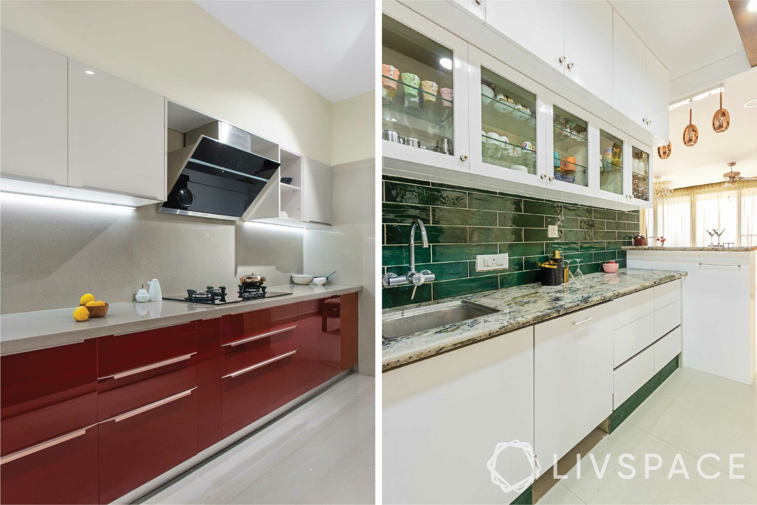 acrylic kitchen cabinets-collage