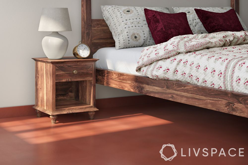Flooring designs-red oxide