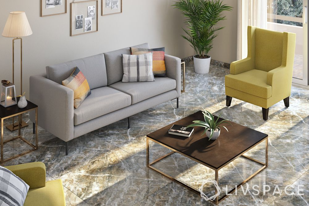 Flooring designs-grey marble