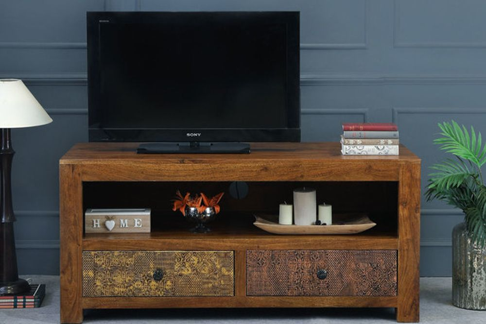 room furniture-tv unit-wooden unit-traditional and vintage