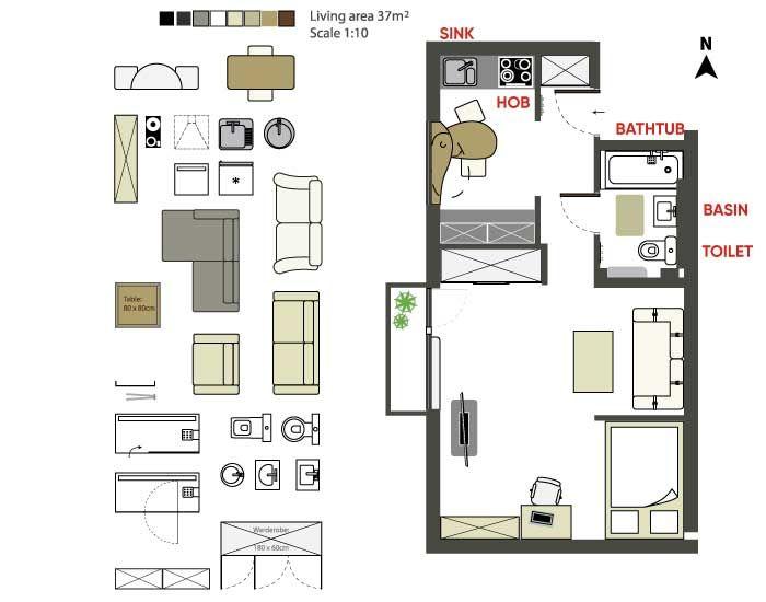 Floor plan-common motifs