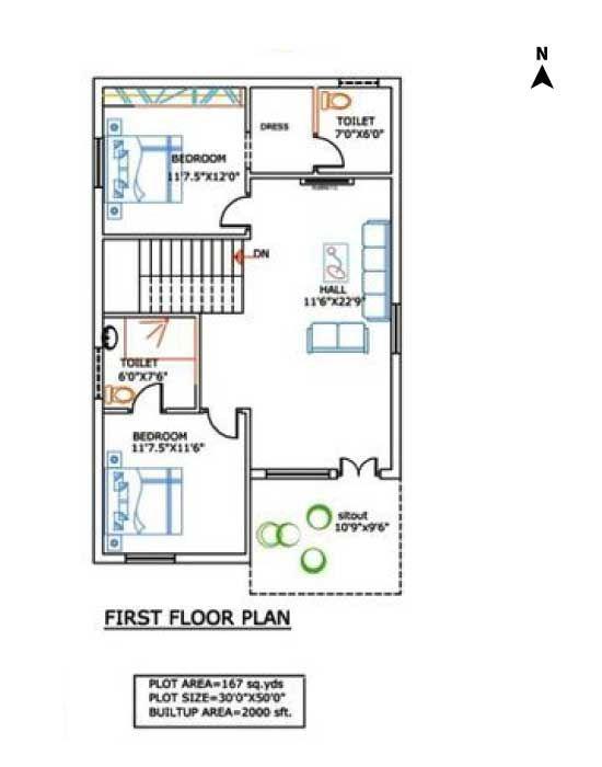 Floor plan-vastu