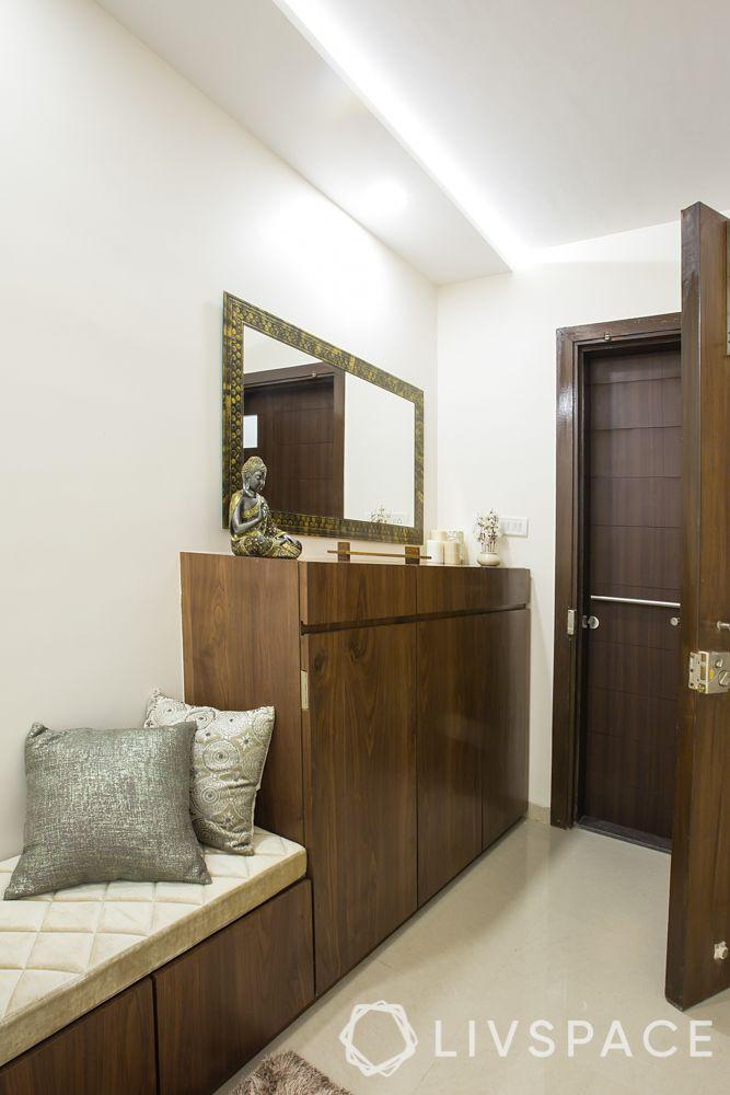 wooden cabinet-wood doors