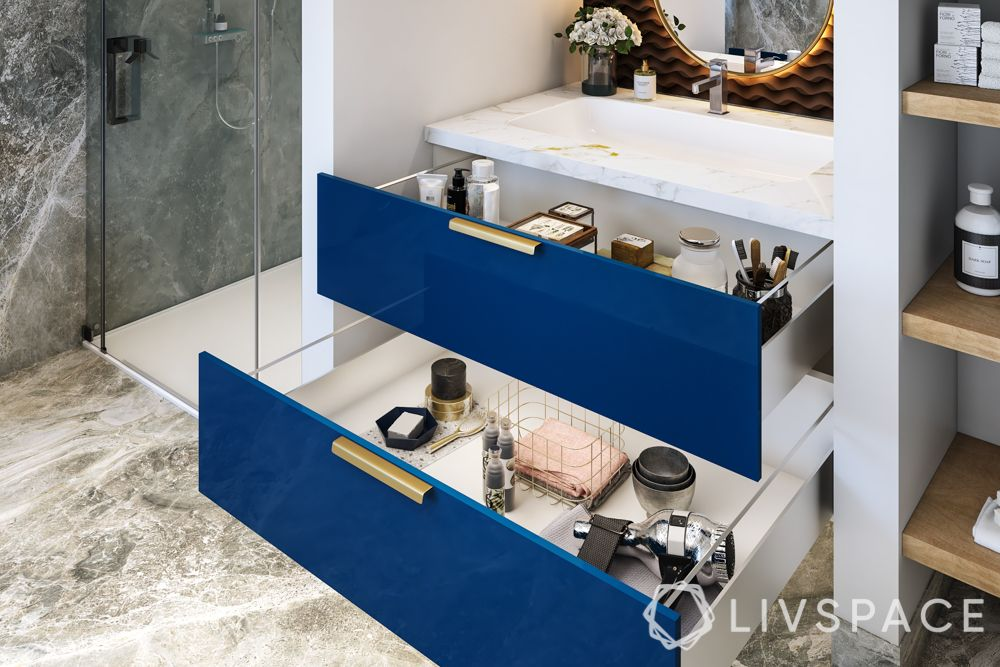 bathroom designs india-storage space-cabinets-vanity unit