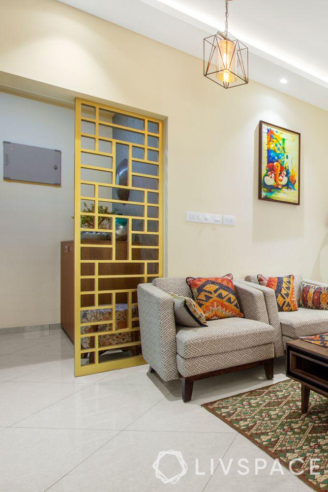 Home-Interiors-Bangalore-Foyer-light