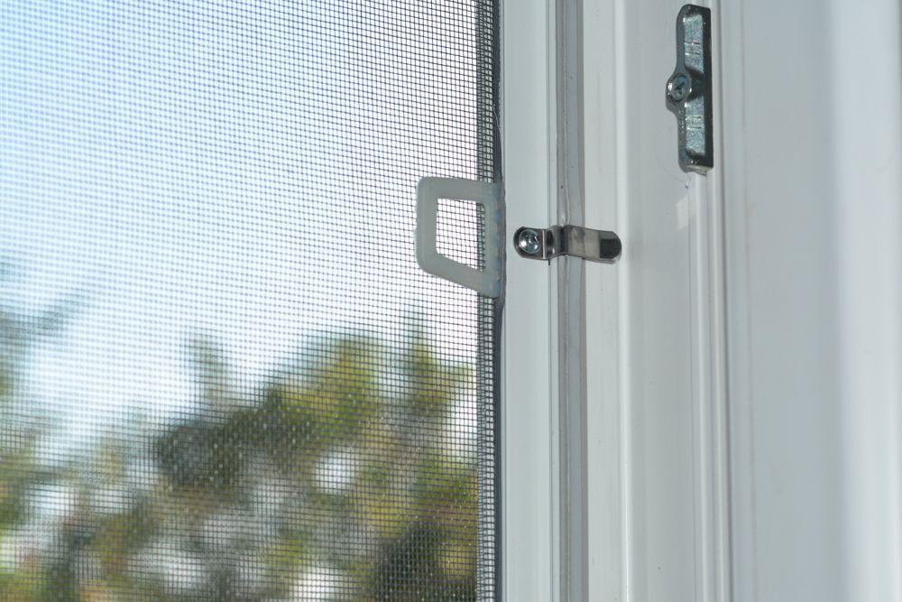 rainy season cleaning-mosquito net-handle-window