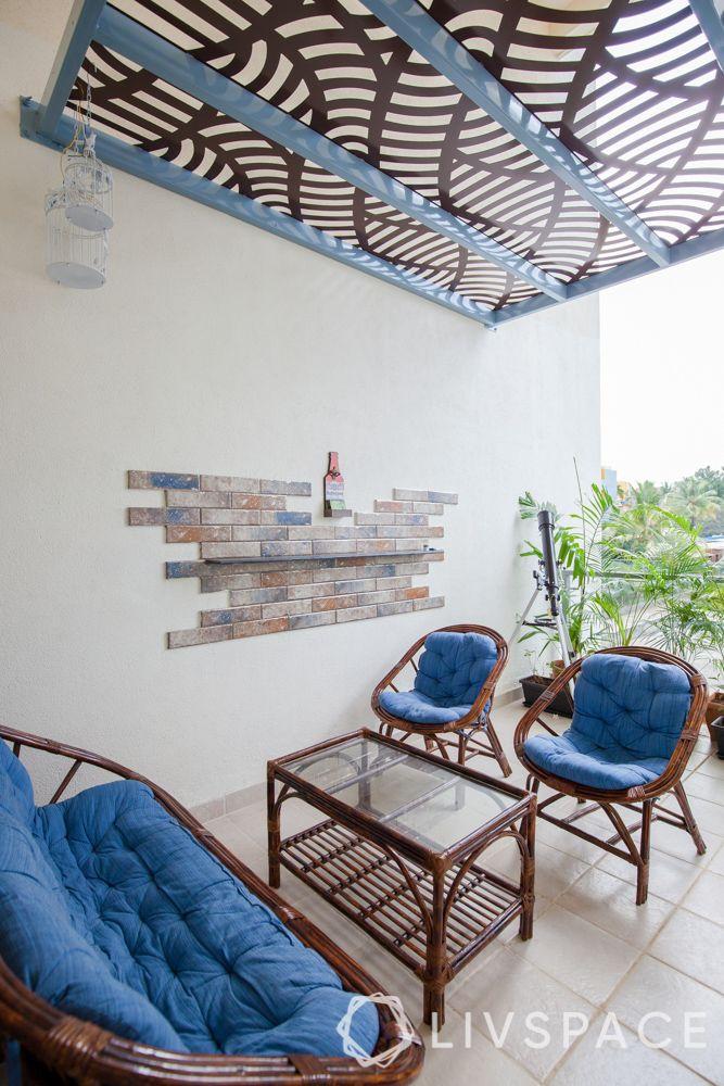 stone wall cladding-balcony