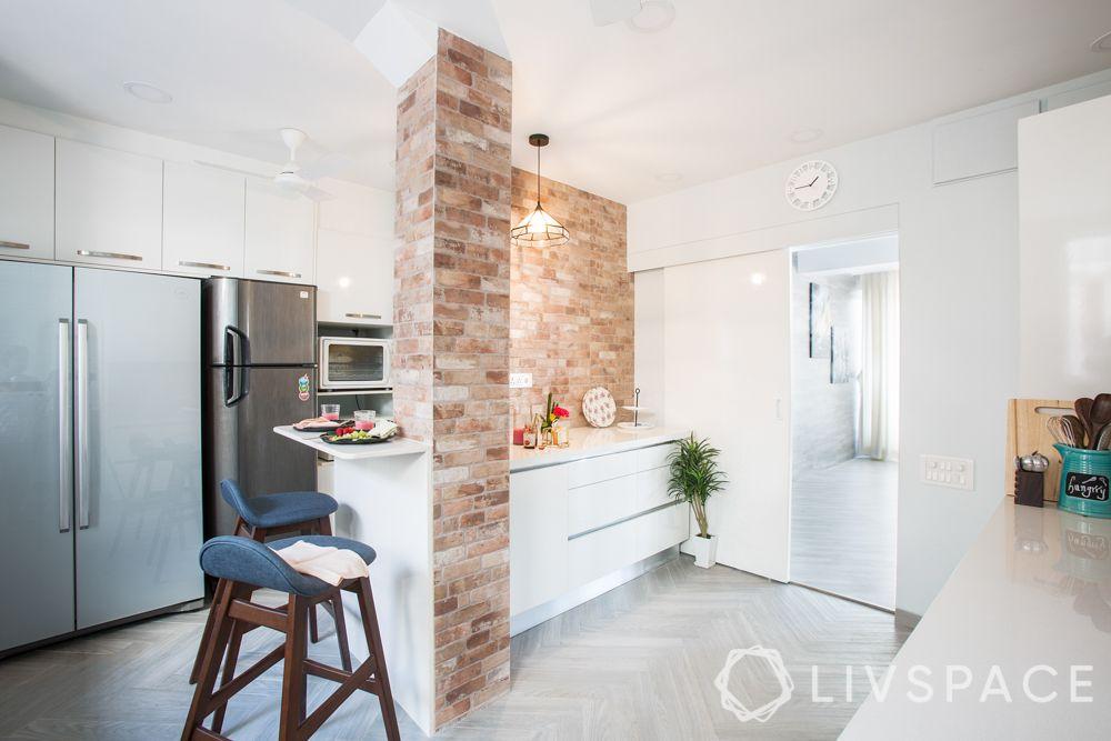 stone wall cladding-kitchen