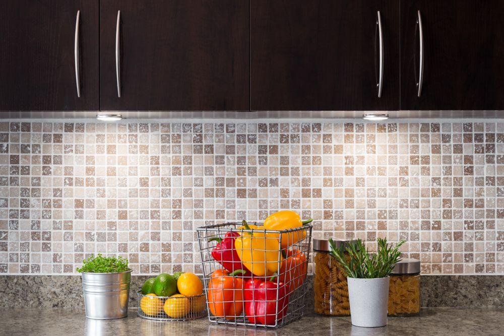 kitchen wall cabinets-backsplash-storage