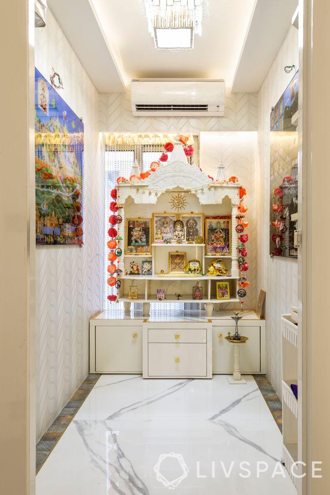 marble mandir design-marble flooring