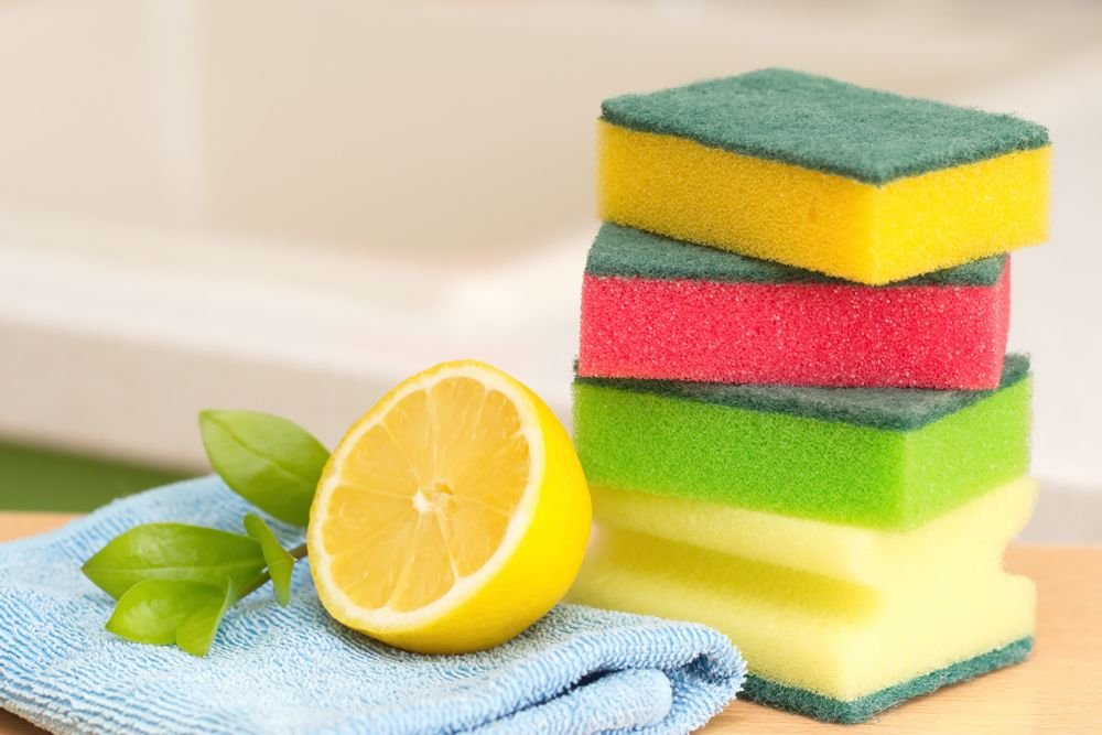 lemon-cleaning materials