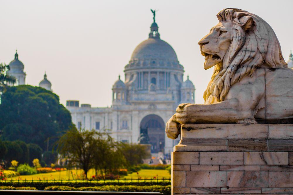colonial architecture-victoria memorial