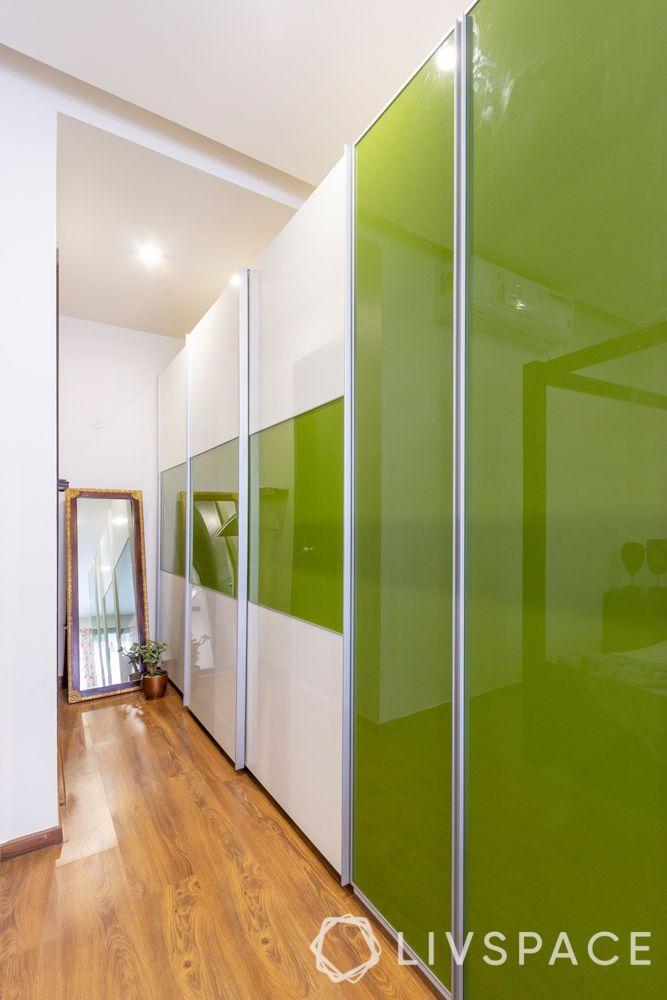 wardrobe colours-green wardrobe