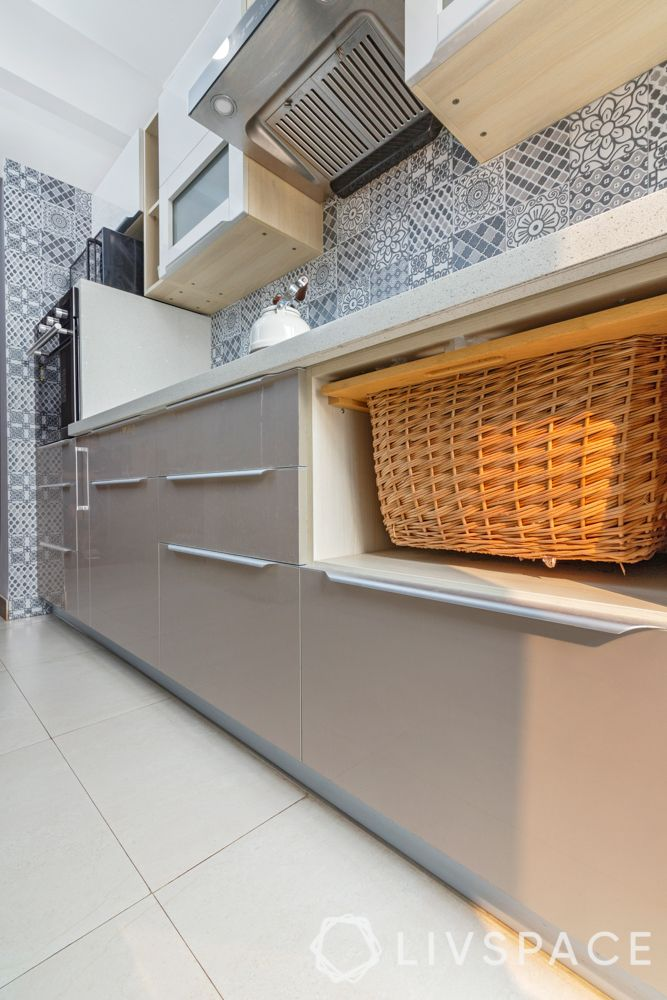 kitchen cabinet organisation-vegetable baskets-kitchen accessories-modular