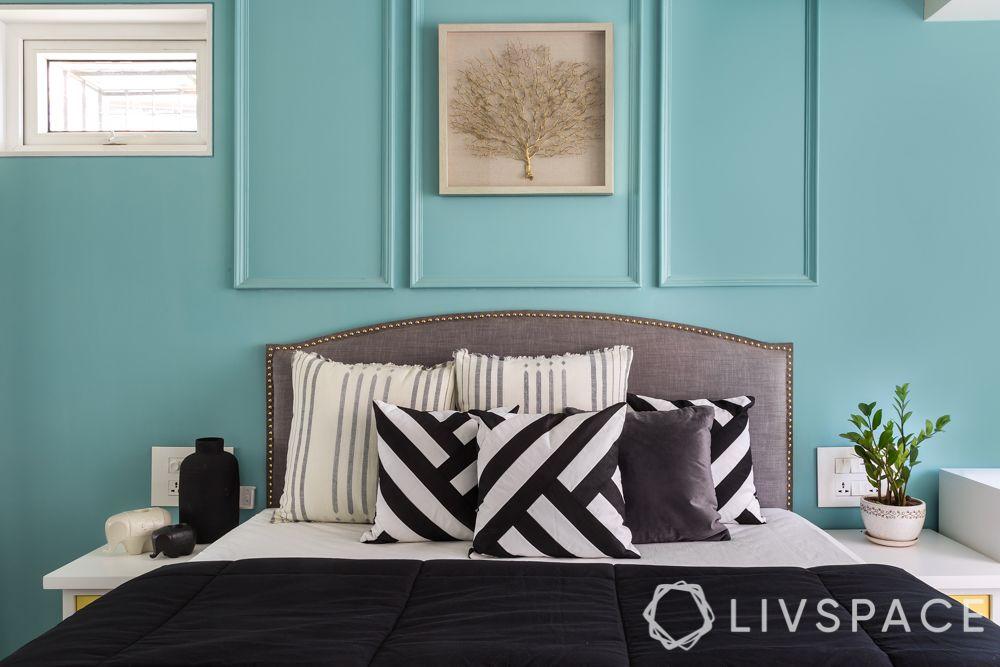 pop designs-blue wall-victorian trims