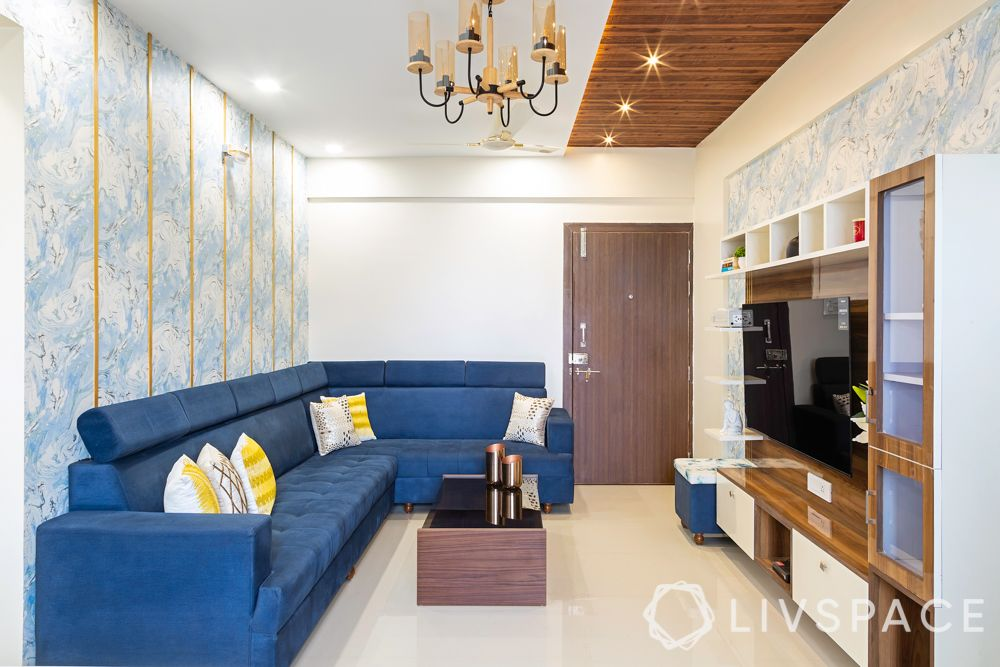 pune interior design-living room