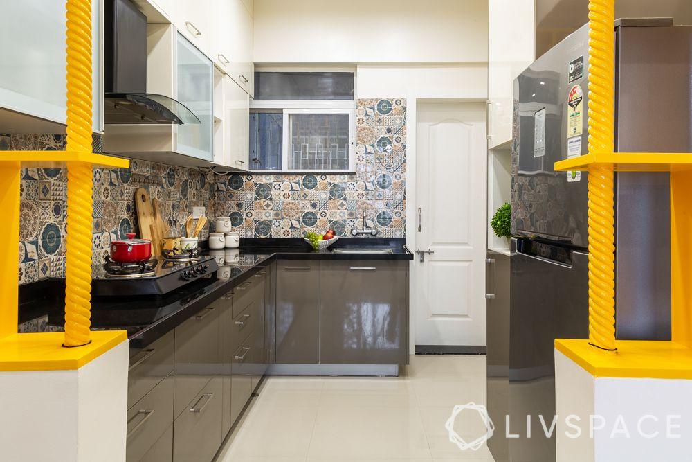 pune interior design-kitchen entrance