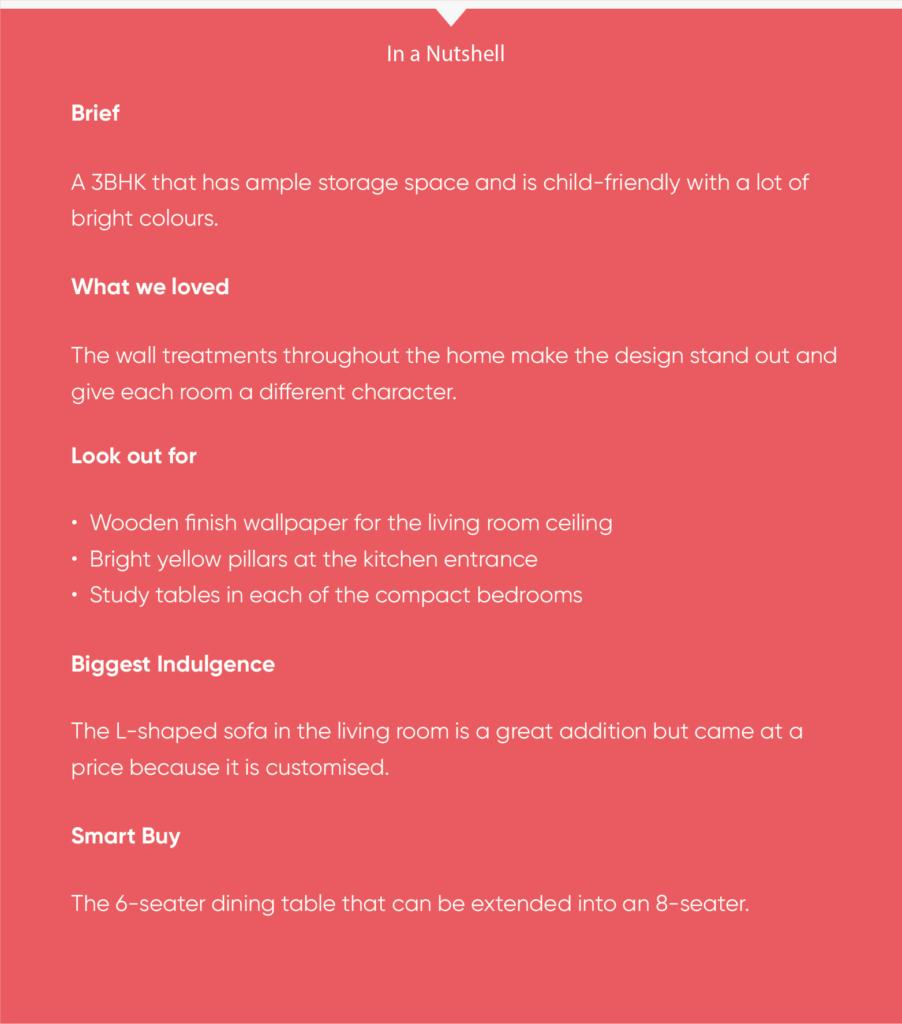 pune interior design-infobox-client brief