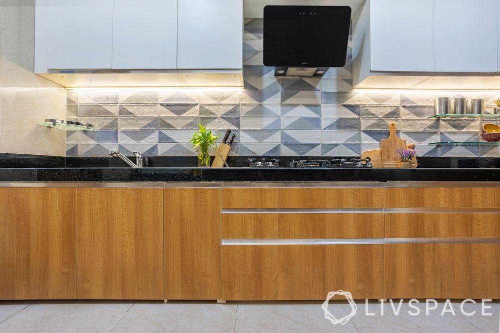 kitchen tiles design-geometric patterns