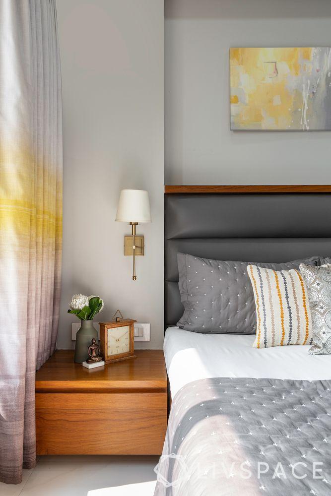 full house interior design-floating side table