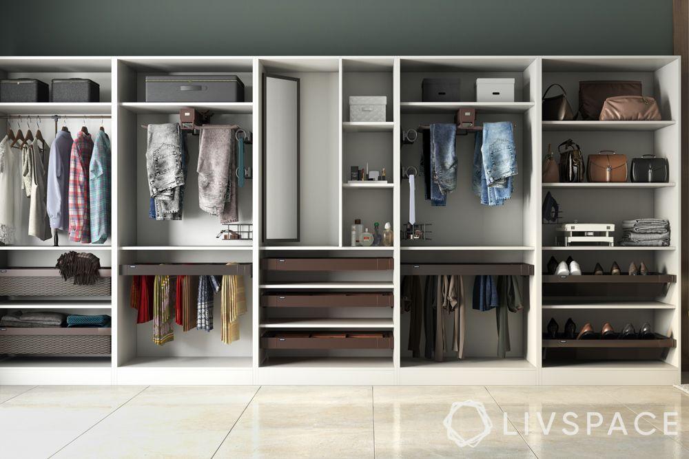 wardrobe cost-wardrobe accessories