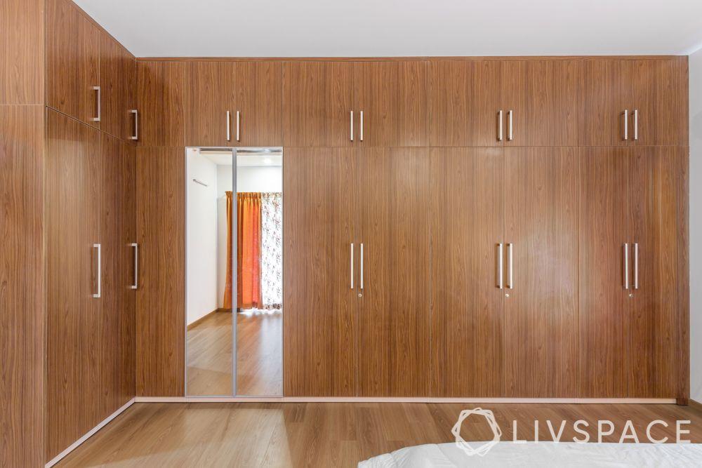 modern house interior-master bedroom-wardrobes-lofts