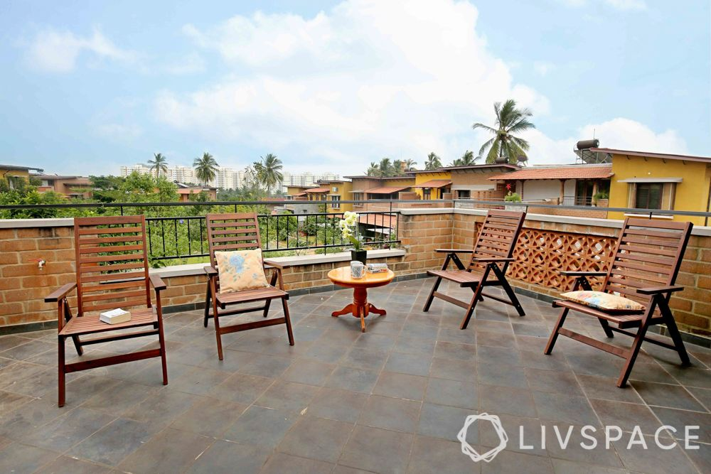 balcony flooring ideas-mangalore tiles for balcony