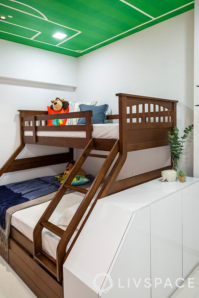 bunk bed designs-kids room ideas