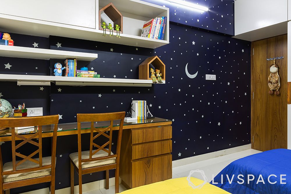 night sky wallpaper-blue wall paper designs