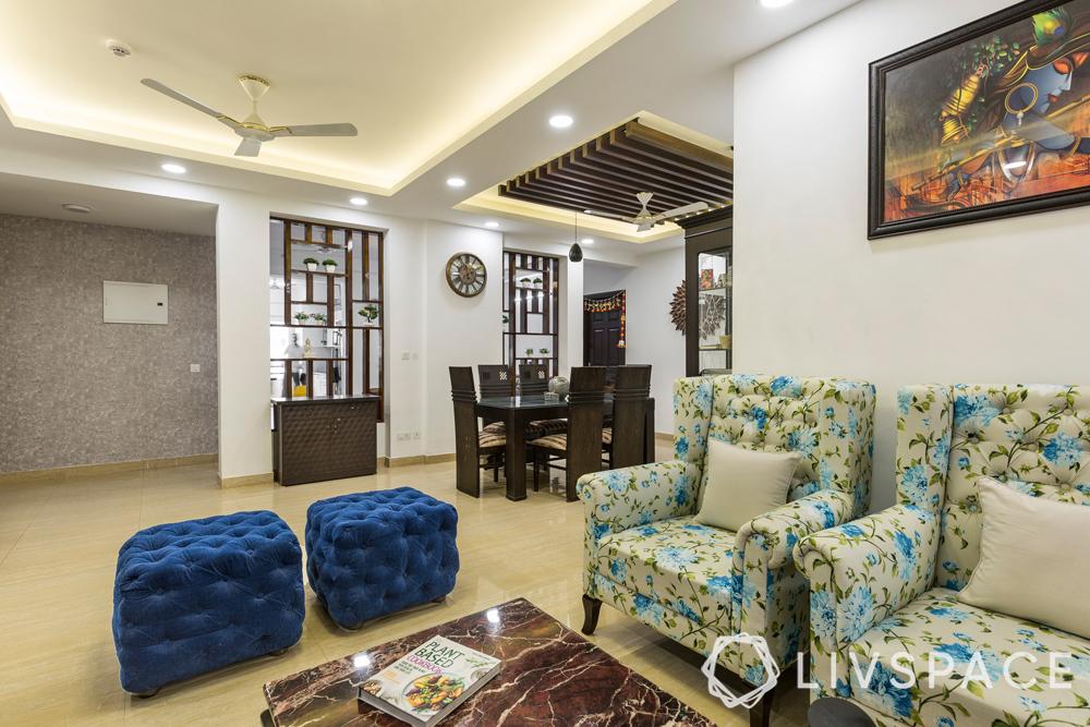 interior designer in greater noida-living-cum-dining-room