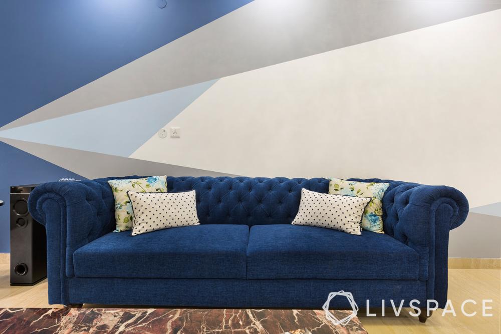 interior designer in greater noida-chesterfield-sofa-blue