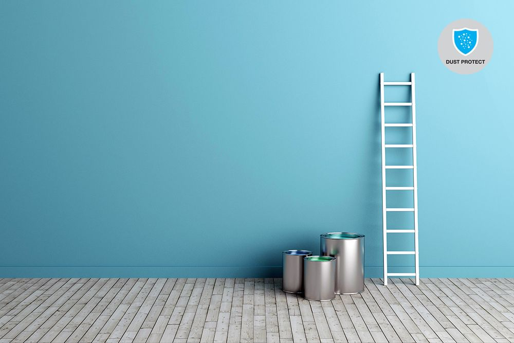 wall paint types-dust resistant paint
