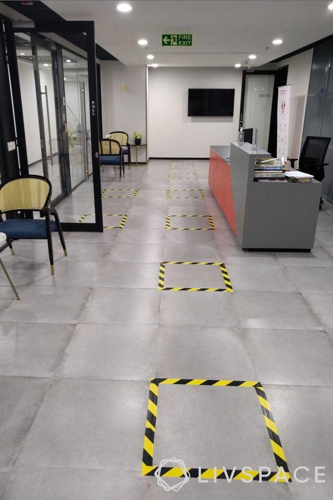 Livspace safe interiors-office