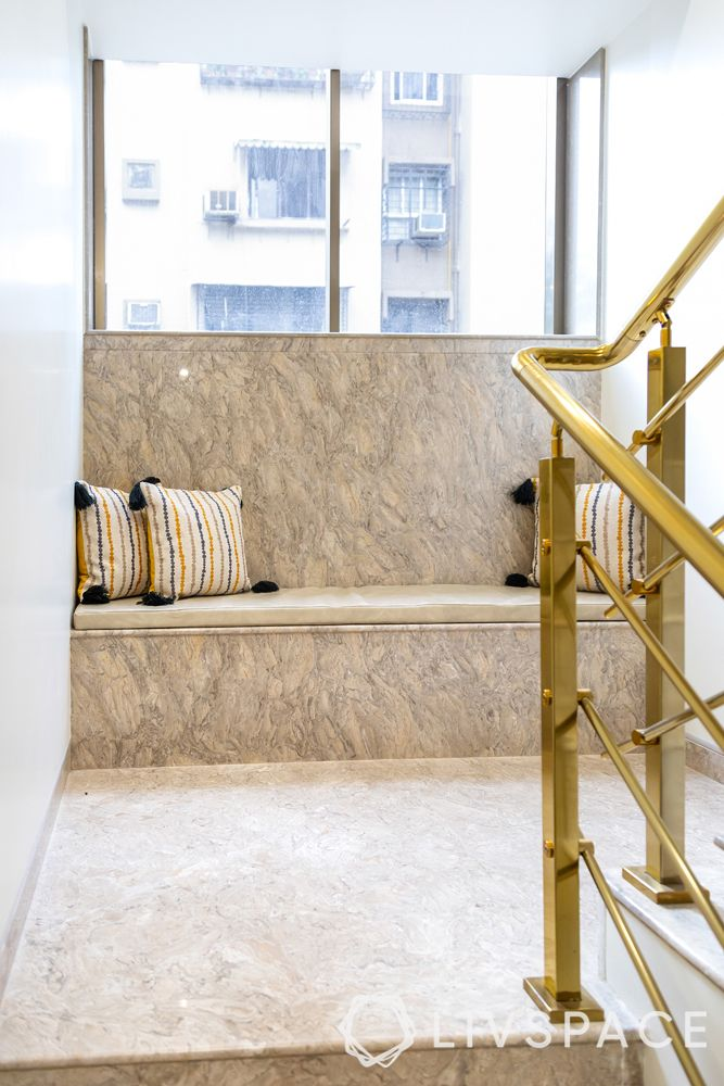 vitrified tiles vs marble-marble flooring-seating-staircase